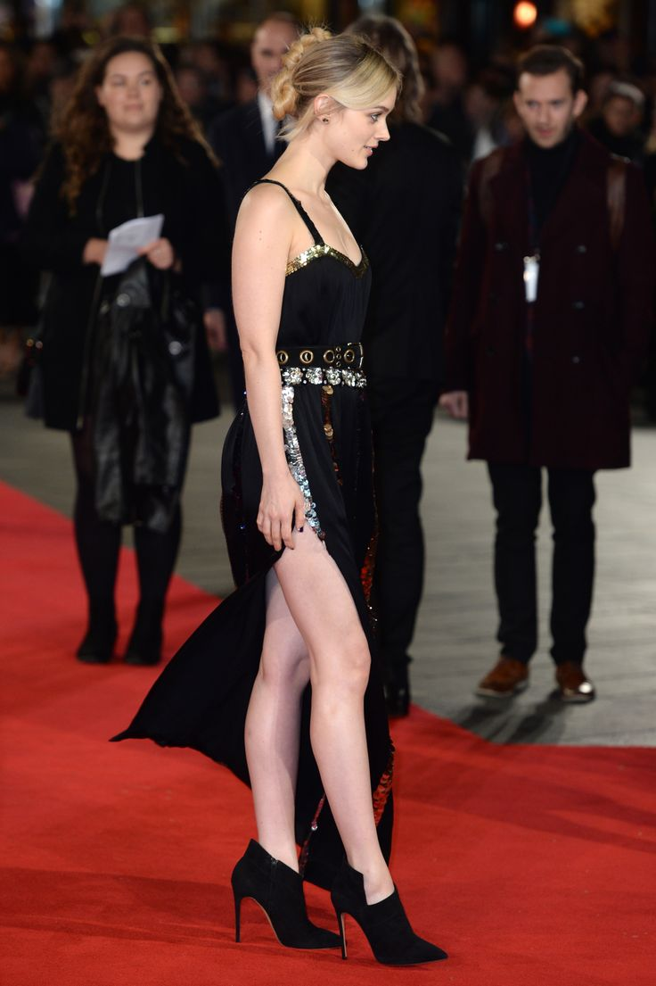 Bella Heathcote attends the red carpet for the European premiere for 'Pride And Prejudice And Zombies' on at Vue West End on February 1, 2016 in London, England.