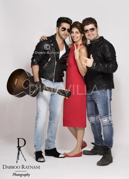 In Pics: Varun Dhawan gets goofy with Dabboo Ratnani and his wife Manisha