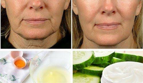 troviamo diversi rimedi fatti in casa che si possono preparare con semplici ingredienti economici e naturali al 100% per combattere la flaccidità del viso