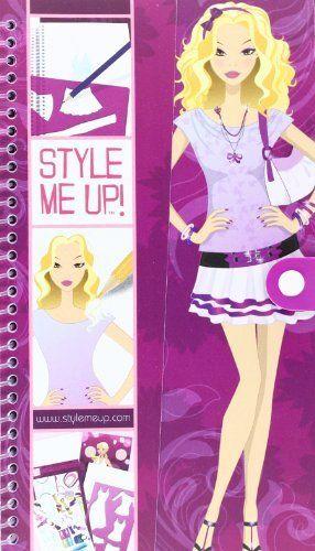 Style Me Up Fashion Designer Sketchbook