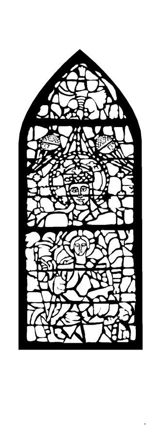 Malvorlagen Und Ausmalbilder Kirchenfenster Malvorlage