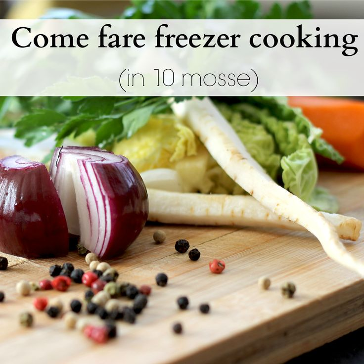 freezer-cooking