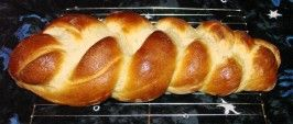 Finnish Coffee Bread (Breadmaker Recipe). Photo by Boomette