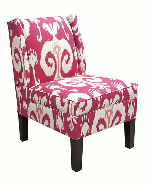 Awesome Light Pink Accent Chair, Add Some Sweetness To The Room! , The Way You Put  The Accent Chair Is Mostly Suitable In Several Conditions.