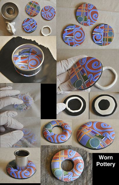 Worn Pottery by Page's Creations, via Flickr