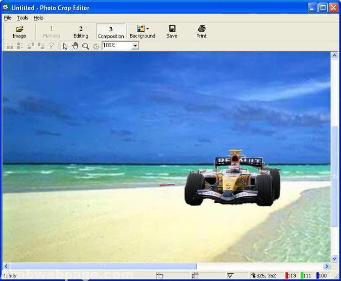 تحميل برنامج تغيير خلفيات الصور للكمبيوتر Photo Crop Change