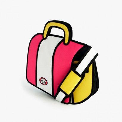 2D #schoudertas! Lijkt plat maar dat is optisch bedrog! Formaat 39X42x8cm. Kijk op www.stiksels.com voor meer 2D tassen