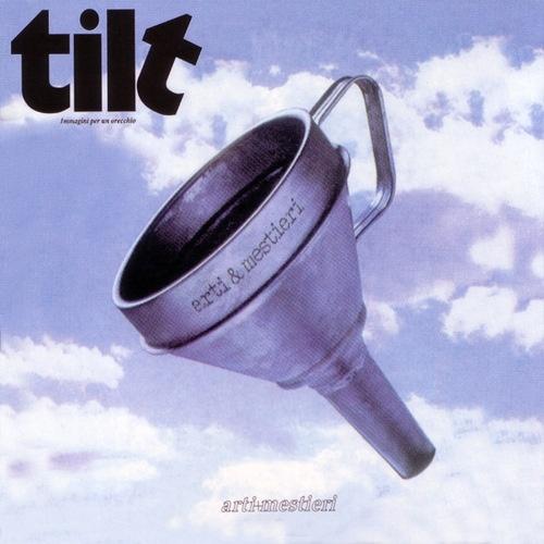Gianni Sassi: Cover designed for the album 'tilt. Immagini per un orecchio' by arti+mestieri from 1973. Due to the cover the record is also known as 'the funnel album'.