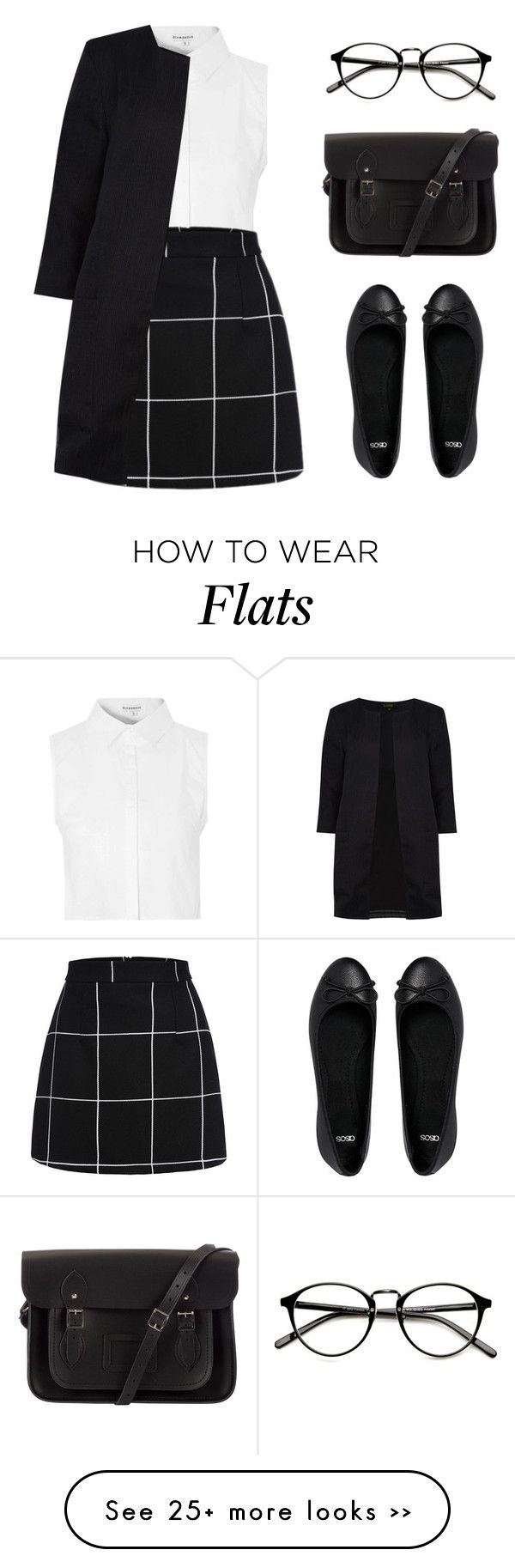 """Lily"" by felytery on Polyvore featuring Glamorous, ASOS, The Cambridge Satchel Company and Dorothy Perkins"