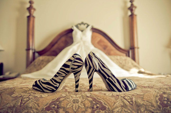 I wish I could but I'm pretty sure my fiancé would be against a zebra print wedding ;)