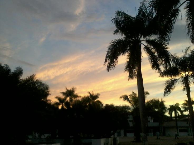 Sunset x)