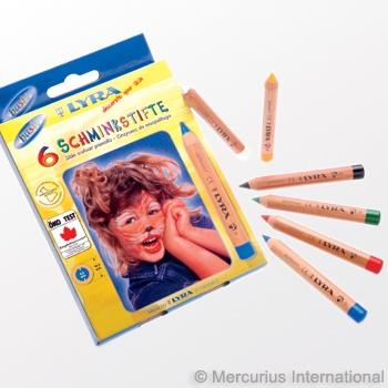 facepainting pencils.