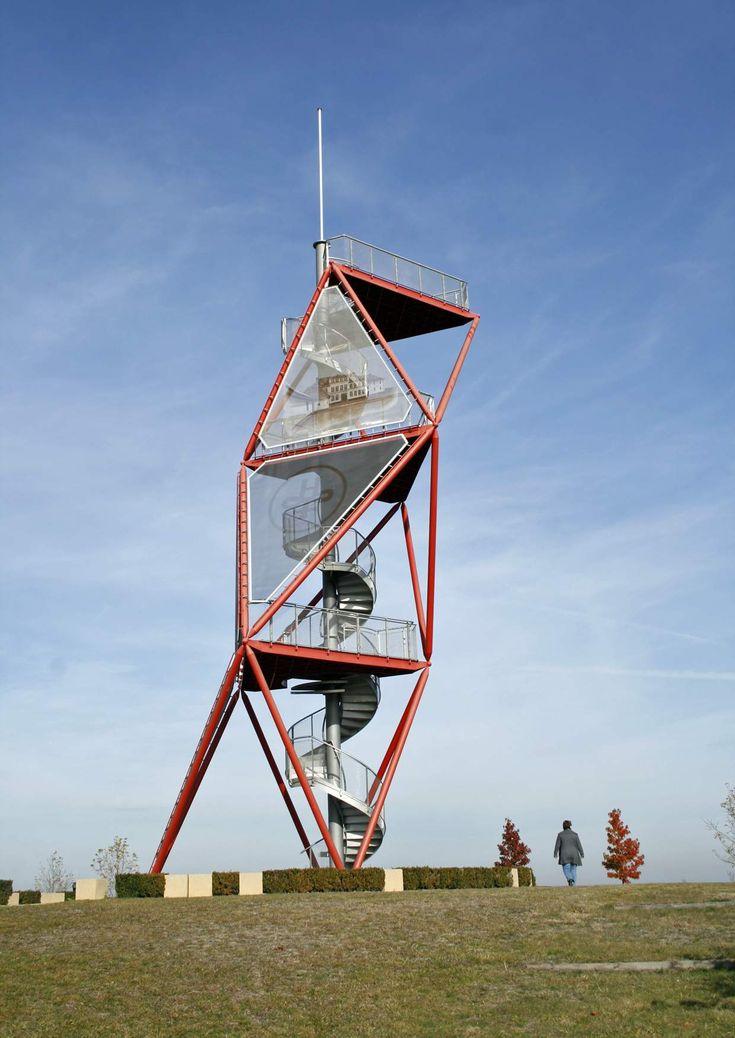Park mit Aussichtsturm in Spremberg OT Haidemühl