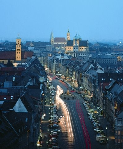 Augsburg, Germany- lived here as a child almost 50 years ago. I would like to go back some Day!
