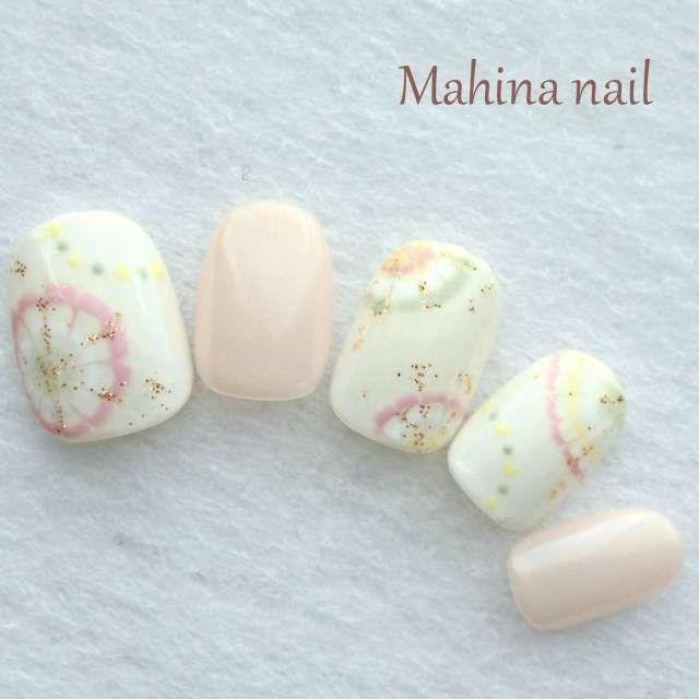 Mahina nailさんのブライダル ワンカラー 冬のネイル