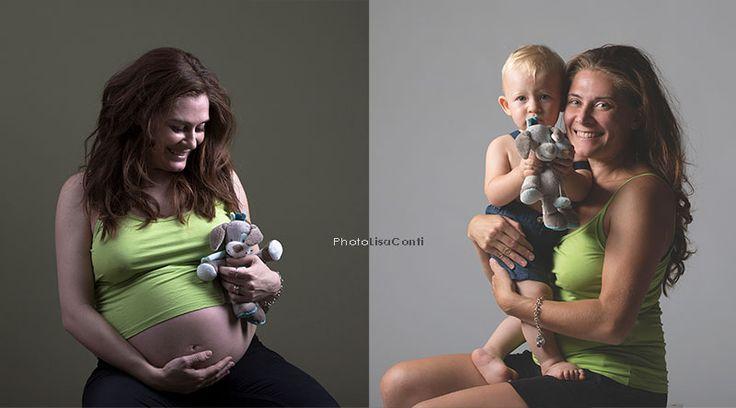 #gravidanza #bimbo #before-after foto Lisa Conti - Milano