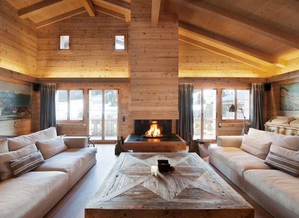 Horská chata ve vsi Gstaad. Design: studio Ardesia Design.