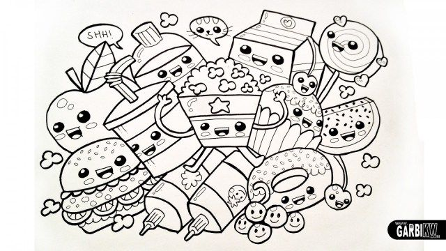 Pretty Photo Of Coloring Pages Tumblr Entitlementtrap Com Cute Coloring Pages Cartoon Coloring Pages Food Coloring Pages