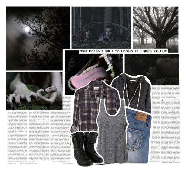 """Torn apart chapter 3- wolf moon"" by violetrose74 ❤ liked on Polyvore featuring Étoile Isabel Marant, Hollister Co. and Simplex Apparel"