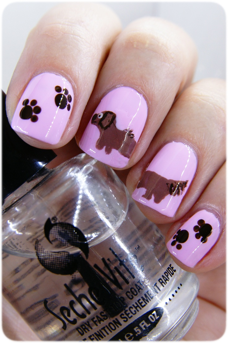 73 best My dog nails images on Pinterest