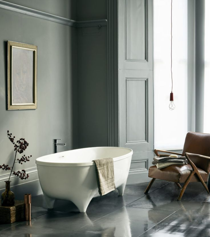 The Vigore bath from Clearwater | How to Plan the Perfect Bathroom - Mad About The House