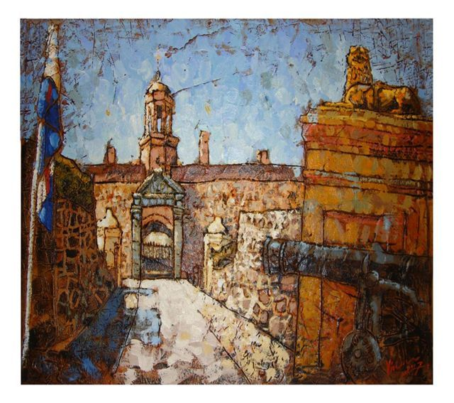 "GoodHope Art Studios - ""Entrance to the Castle"" by Vivien Kohler"