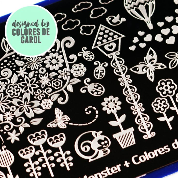 193 best nail stamping plates images on pinterest nail arts blogger collaboration nail art polish stamping plates bm xl203 colores de carol prinsesfo Image collections