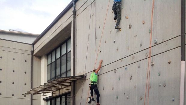 Parete di arrampicata sportiva a Pontassieve (FI) - http://www.toscananews.net/home/parete-di-arrampicata-sportiva-pontassieve-fi/
