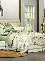 Botanical Fern Quilt and other Bedroom Quilts at Linen Source. | linensource