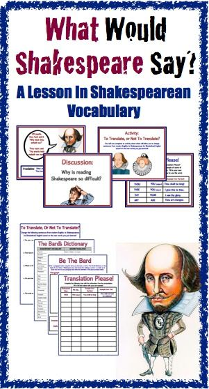 Before you begin reading any Shakespearean play, you must use this product to prepare your students!   Sometimes we forget that students are not used to reading Elizabethan English. This SMART notebook (and PDF) presentation gives students the prior knowledge they need to read Shakespeare successfully.