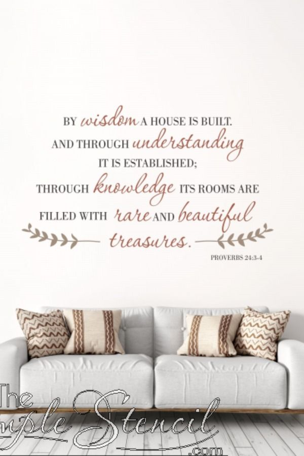 Rare Beautiful Treasures Home Quote Wall Decal Proverbs Bible Verse Art Home Wall Decor Ideas In 2020 Bible Verse Wall Decals Wall Quotes Wall Quotes Decals