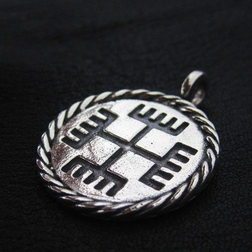 "Silver ""Hands of God"" pendant from The Sunken City by DaWanda.com"
