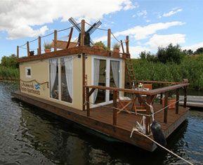 Romantikwochenende Hausboot Romantik