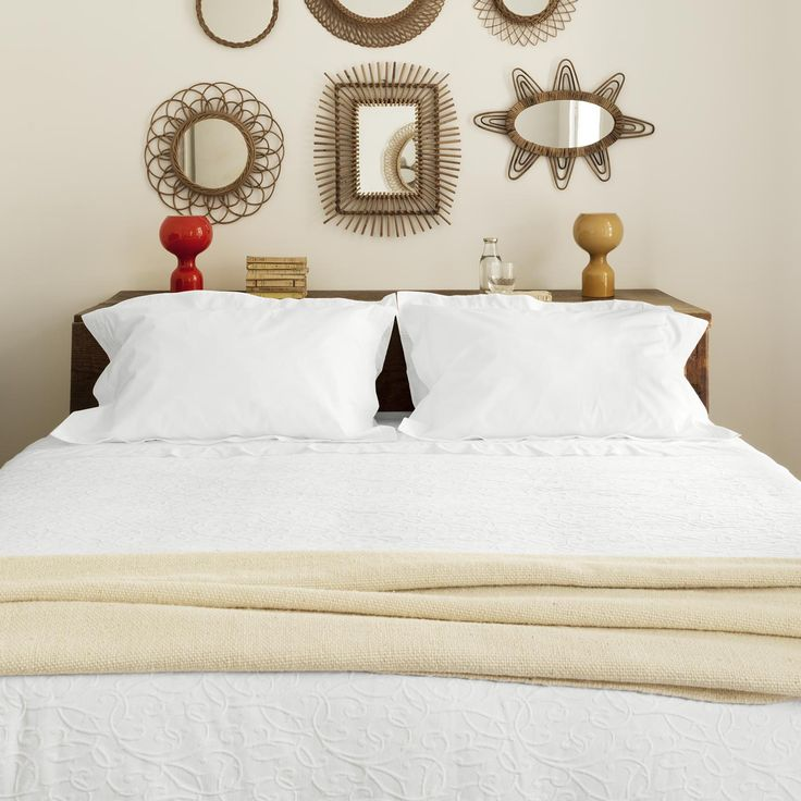 Classico sheets and pillowcases add a sense of style to any room.