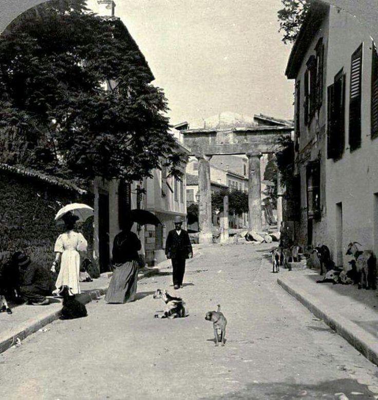 By Bernard Flament, Athens, 1908