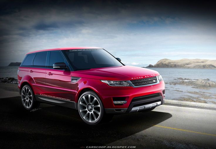 Give it to me in white and call it a day! Range Rover Sport 2014.