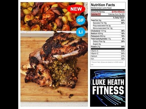 Mediterranean Lamb Roast – Luke Heath Fitness