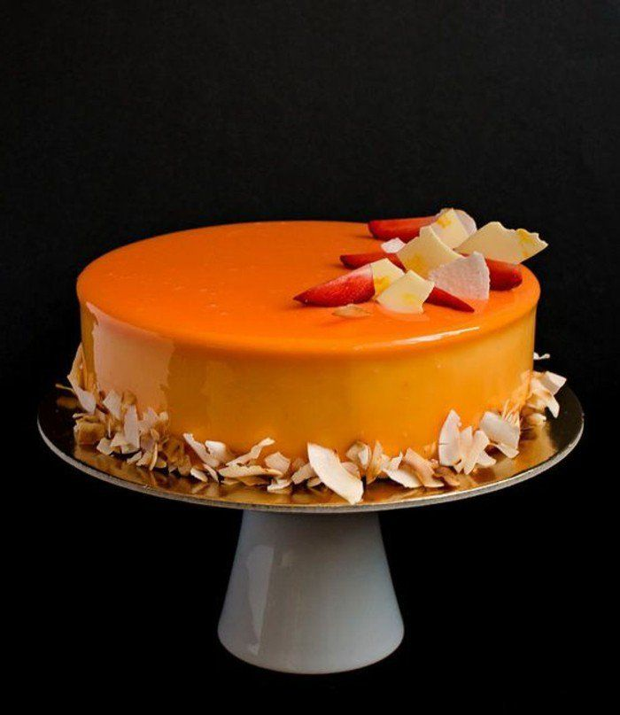 1000 ideas about gateau miroir on pinterest cakes cake for Glacage miroir noir