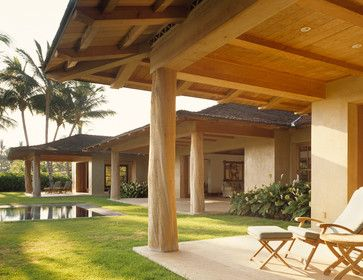 ZAK Architecture The Wood Species On The Column Is Ohia, A Hawaiian Wood  With Natural Part 91