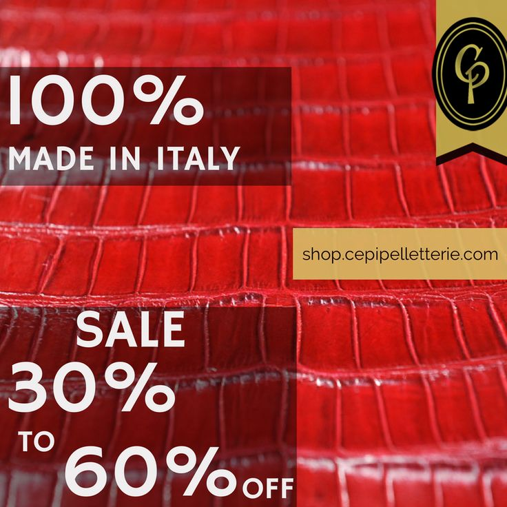 ***SALE! http://shop.cepipelletterie.com/ *** We cut prices, not quality!  Find best #leather #accessories on #CepiPelletterie e-shop: 100% #MadeInItaly, -30% to 60% off!