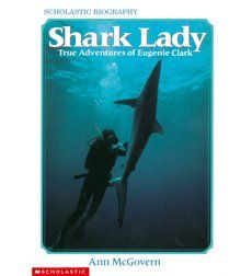 The true-life adventures of Eugenie Clark, an expert on sharks, whose research has been recognized around the world.