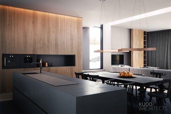 Projekty wnętrz - Warszawa, Łódź | KUOO Architects