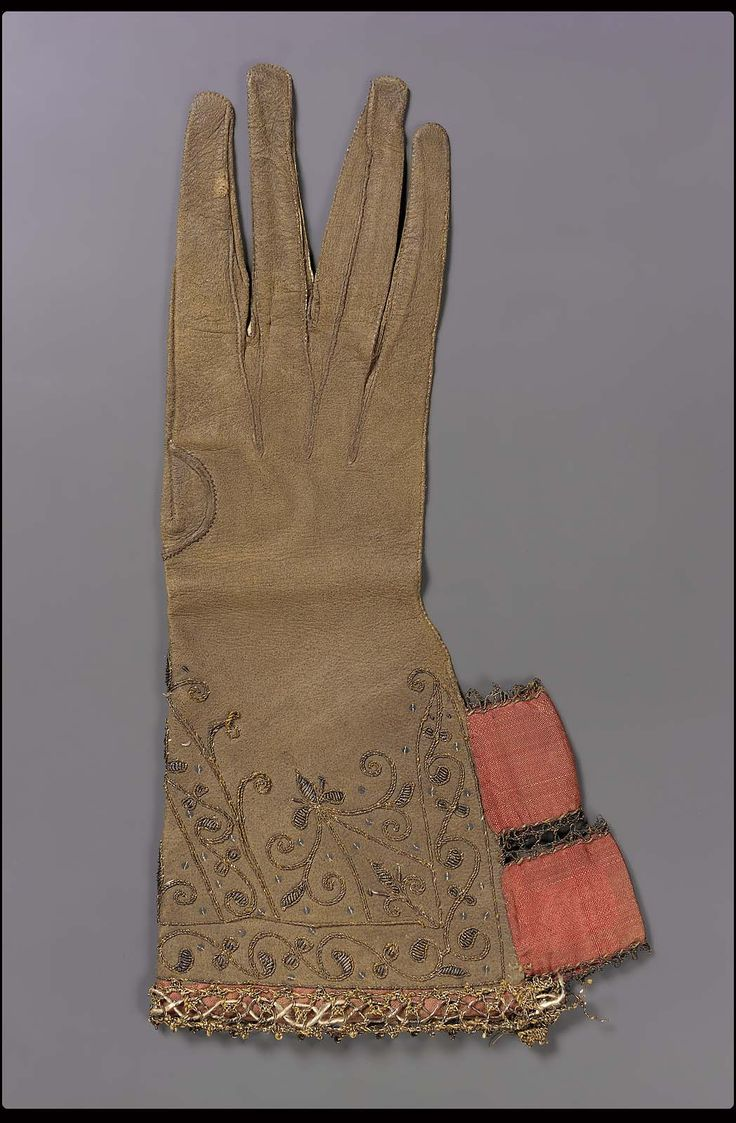 Driving gloves london ontario - Brown Leather Glove Museum Of Fine Arts Boston