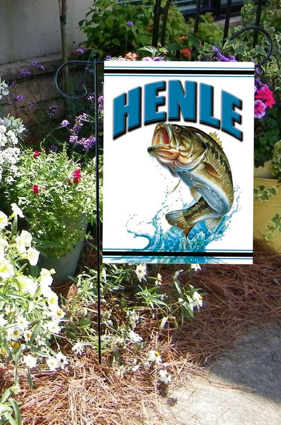 Hey, I found this really awesome Etsy listing at https://www.etsy.com/listing/257257302/fishing-garden-flag-personalized-flag