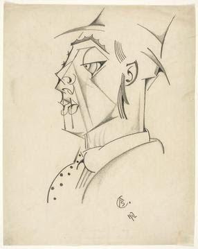 Portrait of Eduardo Viana, 1912 by Amadeo de Souza-Cardoso, (Portuguese 1887-1918)