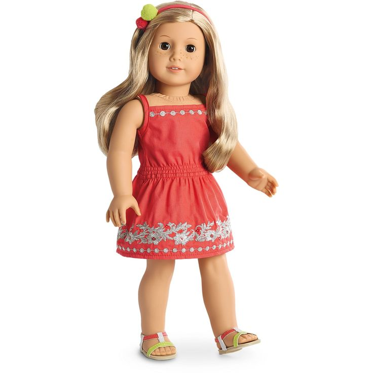 American Girl Sunny Day Dress for 18-inch Dolls