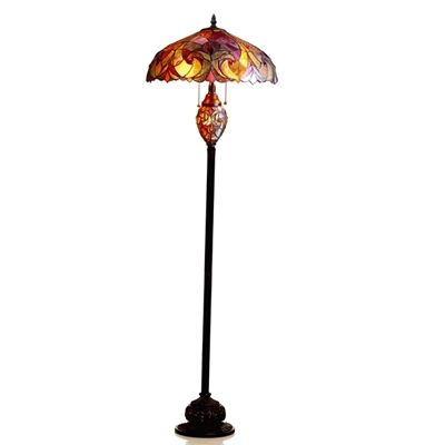 "CHLOE Lighting CH18780VR18-DF3 Victorian Floor Lamp ""LIAISON"""