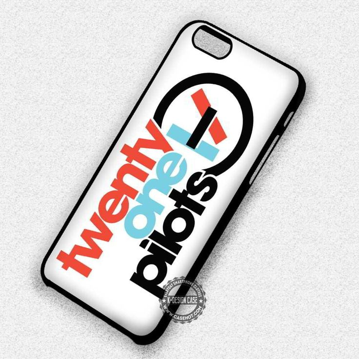 Twenty One Pilots Logo on White - iPhone 7 6 5 SE Cases & Covers #music #21p