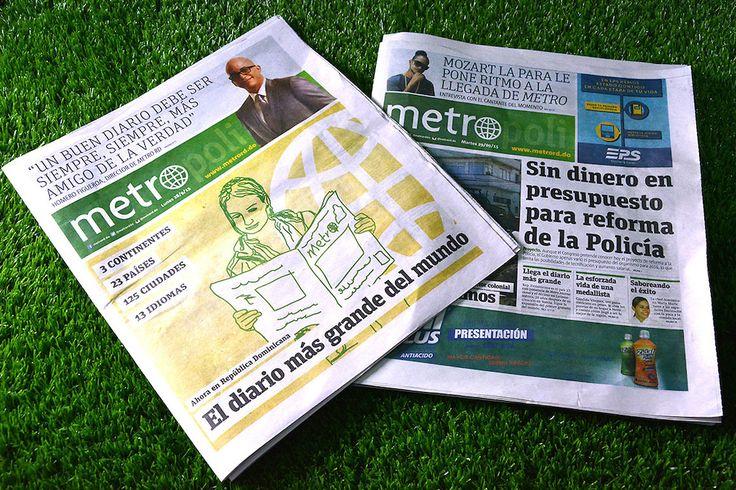 Periódico El MetroRD no circula desde el jueves
