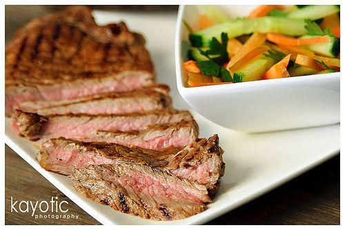 Marinaded Entrecôte (steak marinade)